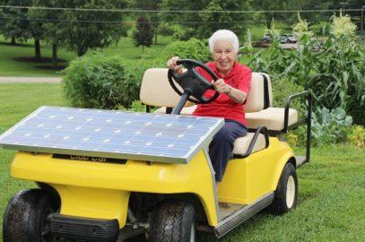 Honoring the Solar Nun