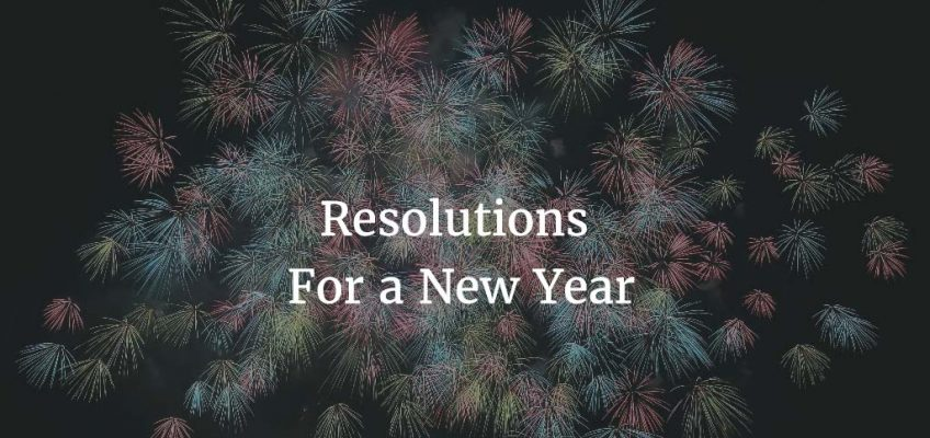 Wise Resolutions for a New Year